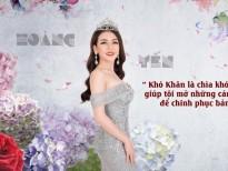 Á hậu Hoàng Yến: 'Khán giả là sức mạnh tinh thần lớn nhất của tôi!'