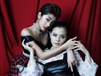 Tia Hải Châu đầy mê hoặc cùng Đàm Phương Linh trong bộ ảnh mới