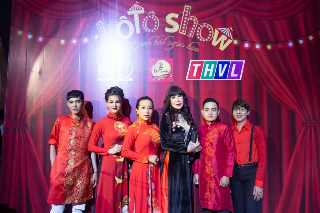 lo to show ganh hat ngan hoa chinh thuc len song