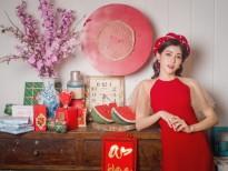 Ngọc Ánh tung bộ ảnh chào Xuân cùng thông điệp 'đón Tết hiện đại giữ nét truyền thống'