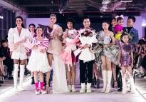 Lan Khuê tái xuất sàn diễn trong show của NTK Ivan Trần