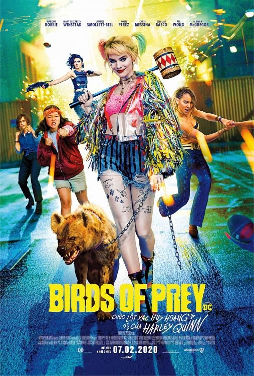 birds of prey tung trailer cuoi harley vui choi toi ben danh dam man nhan van khong quen ca khia batman