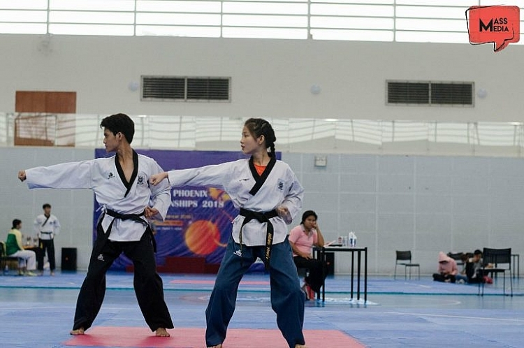 do dang su nghiep van dong vien taekwondo nguyen dinh khang gay dau an trong lang showbiz viet