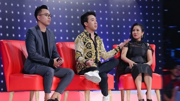 Trấn Thành phấn khích khi gặp 'song Linh' Mỹ Linh và Uyên Linh tại 'Giọng ải giọng ai'