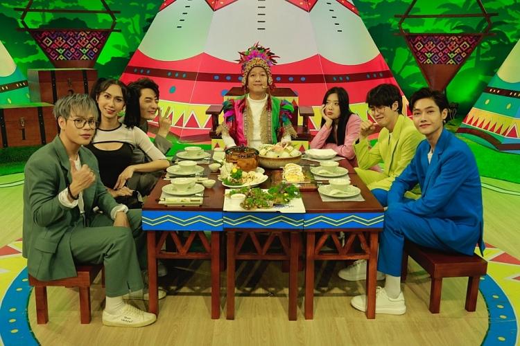 'Thiên đường ẩm thực': Lynk Lee biến thành 'nàng thơ thể dục' khiến Trường Giang cười khoái chí