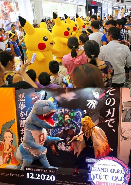 POPS Fan Fest: Trò chơi ngập tràn, đầy cơ hội 'săn' figure anime cực hot