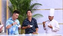 'Đấu trường ẩm thực': Lê Dương Bảo Lâm bất ngờ với khả năng nấu ăn cực chuyên nghiệp của Lê Nam