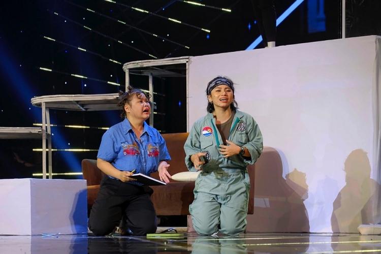 'Cười xuyên Việt 2020': BB Trần xuất hiện chớp nhoáng không thoại, Hải Triều hỗ trợ Ngọc Phước