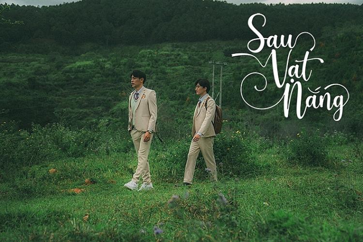 Thái Thanh Nhàn và Huy Du ngại ngùng khi diễn cảnh thân mật trong 'Sau vạt nắng'