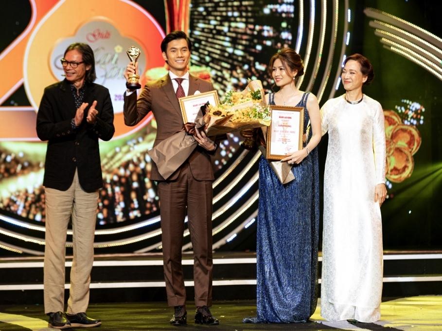 Văn Phượng đoạt danh hiệu 'Nữ diễn viên được yêu thích nhất' giải Mai vàng 2020