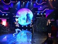 'Đấu trường ngôi sao': Thanh Bạch, Nguyên Vũ 'thót tim' với màn diễn xiếc của cha con Quốc Nghiệp