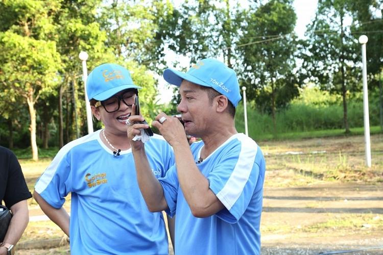 Minh Nhí và Vũ Hà 'tay bắt mặt mừng', cùng nhau 'chém gió' đủ các chủ đề