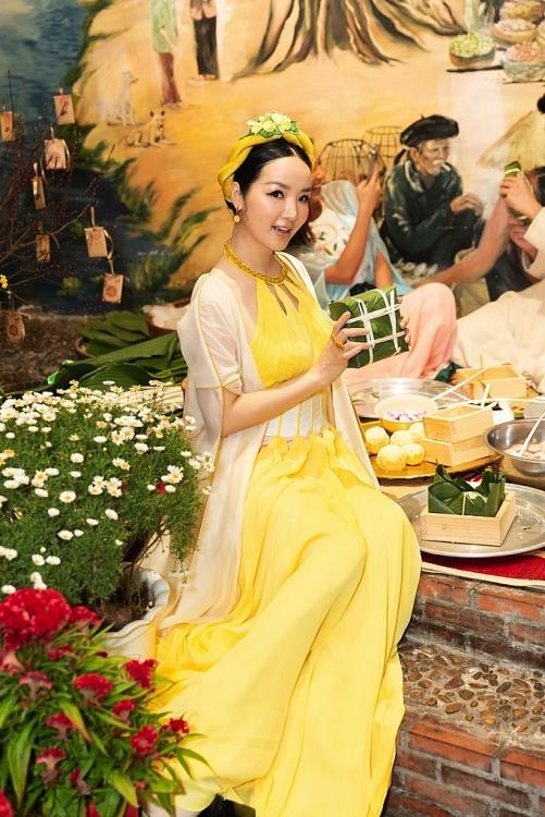 Vũ Thu Phương hội ngộ Giáng My, H'Hen Niê và hội mỹ nhân ở tiệc 'Du xuân'