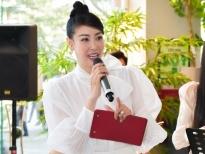 Hoa hậu Hà Kiều Anh lần đầu làm MC