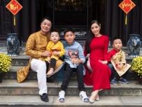 Kiwi Ngô Mai Trang khoe hình thời trang của 2 cậu con trai