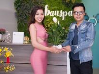 'Hoa hậu Nhân ái' Linh Huỳnh rạng rỡ ngày khai trương đầu năm