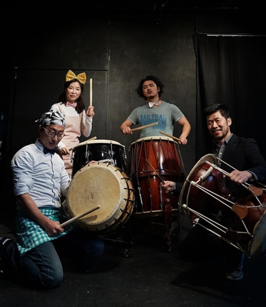 rhythm theater den viet nam bieu dien trong chuong trinh bep ngon