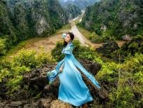Đại sứ áo dài Vũ Trần Bảo Nguyên mơ những giấc mơ an lành trên đất kinh kỳ xưa
