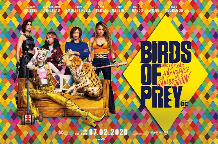 profile 6 chi dep trong birds of prey