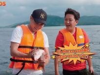 Hồ Quang Hiếu trổ tài 'săn cá'cùng Trường Giang giữa 'đảo hoang'