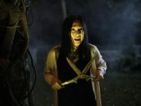 'Vô diện sát nhân' tung loạt ảnh hậu trường kinh dị, đầy bí ẩn của Phương Anh Đào