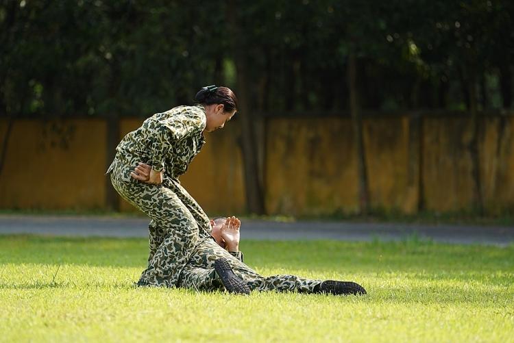 Nam Thư bỏ qua chấn thương, tiếp tục thử thách chính mình tại 'Sao nhập ngũ'