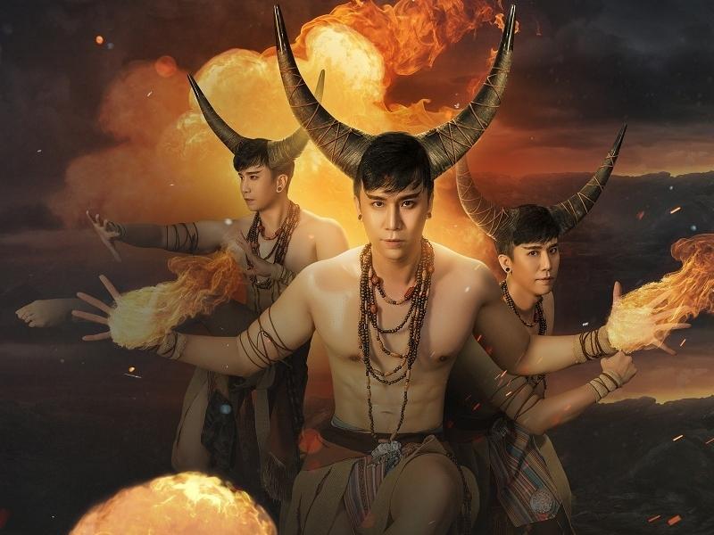 Đạo diễn Lê Việt 'rảnh rỗi sinh nông nổi' với bộ ảnh 'hóa' trâu độc đáo