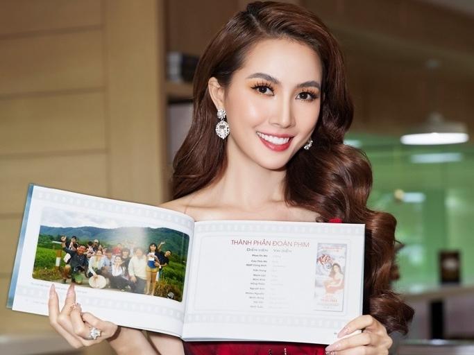 Hoa hậu Phan Thị Mơ: Cố gắng để 'cảnh nóng' trong phim không bị dung tục