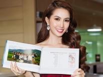Hoa hậu Phan Thị Mơ: Phụ nữ muốn vượt định kiến xã hội phải như một đóa hoa sen