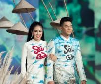 vo chong le phuong trung kien lam vedette trong le hoi ao dai 2018