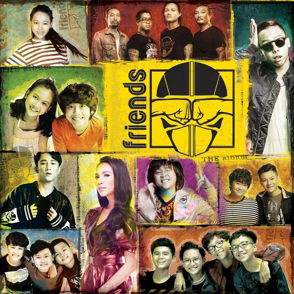 ra mat album friends danh cho lua tuoi 8 16