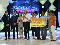 Lần đầu trong lịch sử của 'Hát mãi ước mơ' có đến 2 thí sinh giành chiến thắng 50 triệu đồng