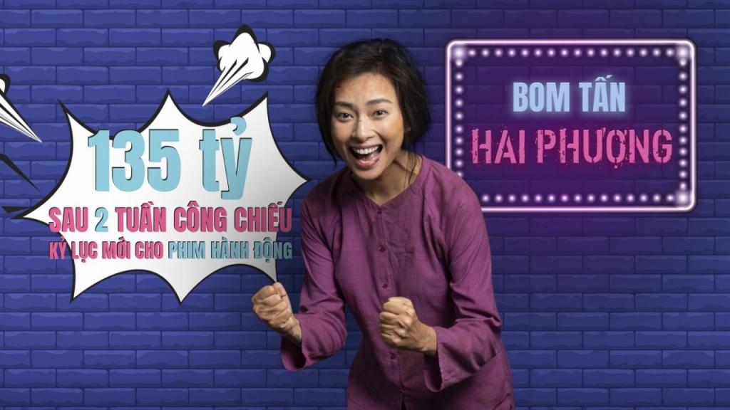 hai phuong bom tan hanh dong viet nam dau tien dat doanh thu tren 135 ty