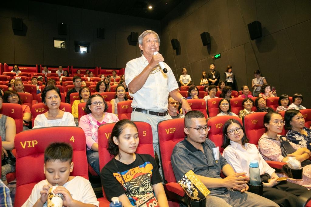 cgv danh tang suat chieu som phim hanh phuc cua me cho benh nhan ung thu