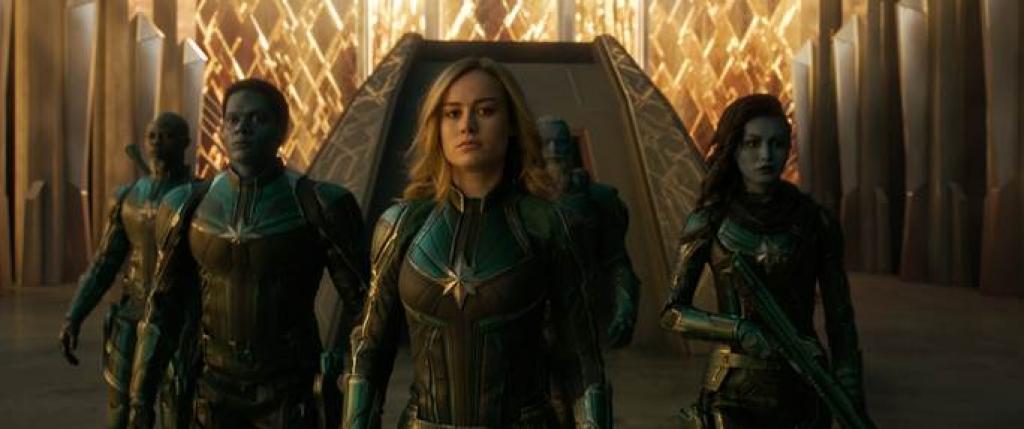 xoa tan nghi ngai ve phim nu sieu anh hung doanh thu mo man cua captain marvel tai viet nam chi dung sau avengers infinity war