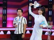 Hari Won ngượng ngùng khi khách mời 'chê' A Xìn mập