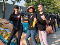 Top 3 'Hoa hậu hoàn vũ Việt Nam' hưởng ứng phong trào 'Challenge For Change'