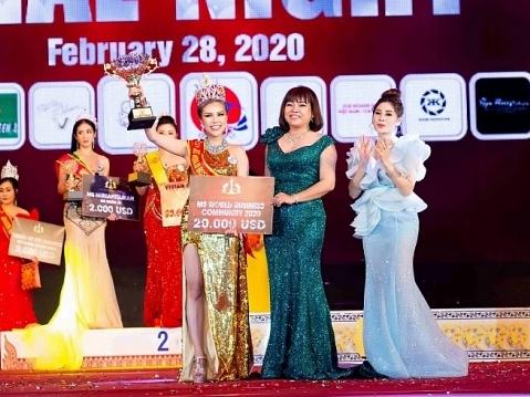 kimmy bui dang quang ms world community business 2020