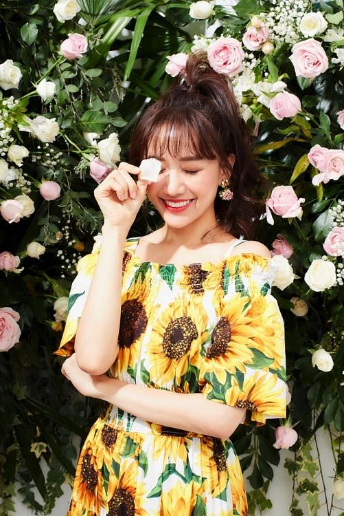 hari won hoa cong chua hoa dep mo mang trong bo anh moi
