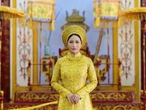Á hậu Trang Thảo 'mô phỏng' Hoàng hậu Nam Phương với áo dài xưa
