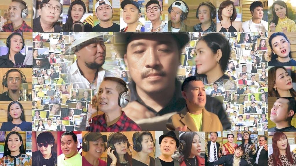 MV 'Miền Trung hoa sẽ nở' xác lập kỷ lục có 150 ca sĩ, diễn viên tham gia