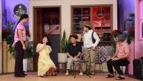 '7 nụ cười xuân': Trường Giang, Hữu Tín chúc mừng Lâm Vỹ Dạ mang thai