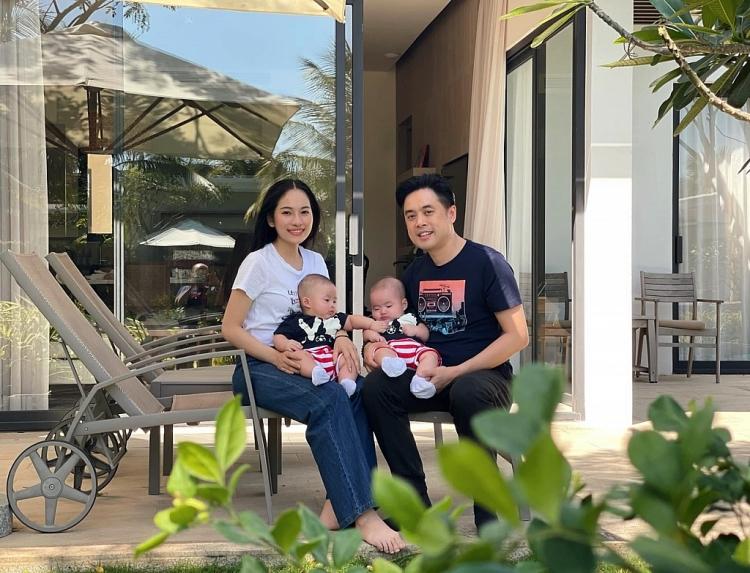 Dương Khắc Linh hạnh phúc khi hai quý tử song sinh có 'bạn tương lai' nhà Hồ Ngọc Hà, Đông Nhi
