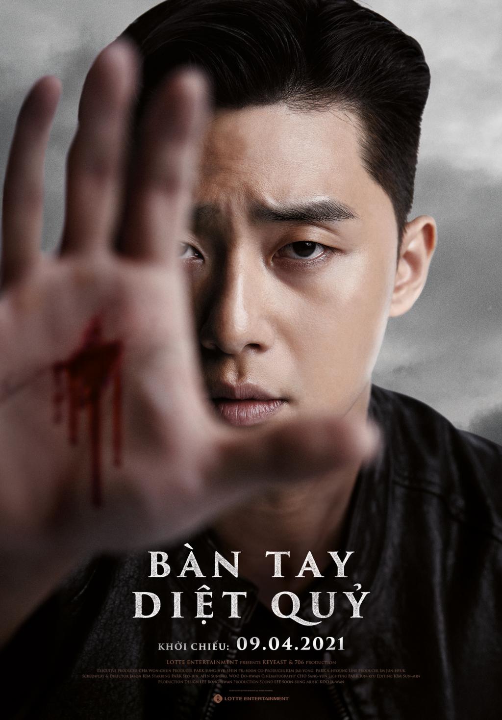 Park Seo Joon liên tục khoe ngoại hình chuẩn 6 múi trong 'Bàn tay diệt quỷ'