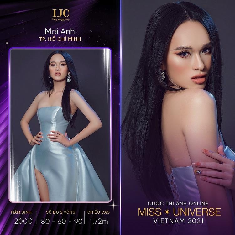 Những thí sinh đầu tiên của 'Cuộc thi ảnh online Hoa hậu hoàn vũ Việt Nam 2021'