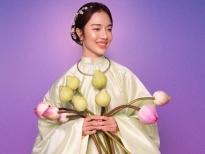 Ngắm Hoàng Duyên nền nã trong những chiếc áo Việt phục 'chuẩn'