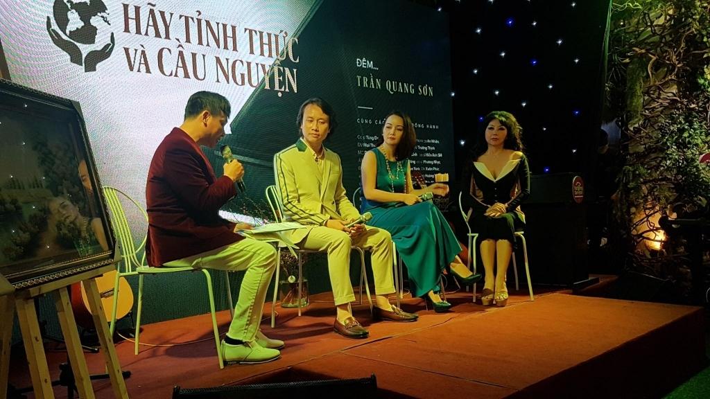 'Hãy tỉnh thức và cầu nguyện' cùng nhạc sĩ Trần Quang Sơn