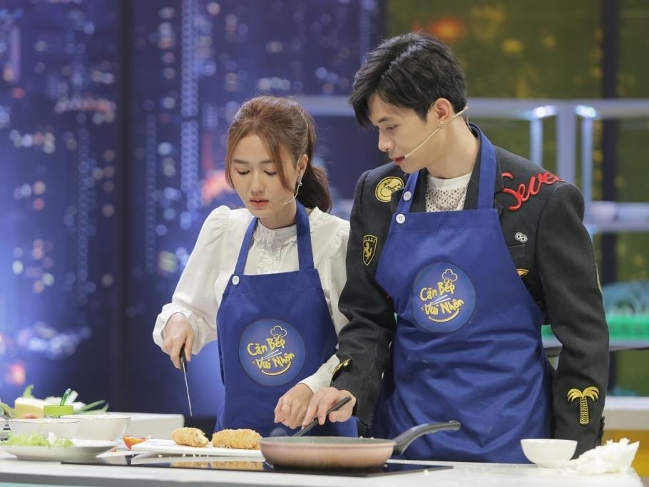 1.001 khoảnh khắc nam thần của 'người yêu Diệu Nhi' tại 'Căn bếp vui nhộn'