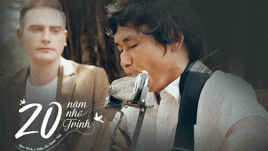 '20 năm nhớ Trịnh' cùng chàng ca sĩ ngoại quốc Kyo York