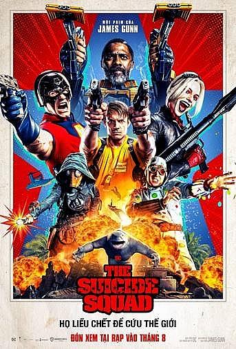 'The suicide squad' gây sốc với nhiều cảnh bạo lực đẫm máu
